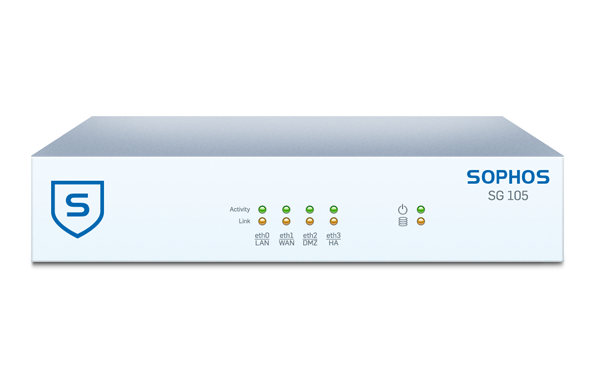 Sophos SG 105 Rev. 3 Security Appliance