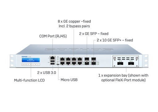 Sophos XG 330 Rev. 2 Security Appliance